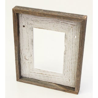 The Natural Shabby Chic White Reclaimed 8x10 Frame