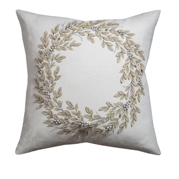Rizzy Home Holiday Collection 20-inch Throw Pillows- Multiple Holiday Patterns available - Free ...