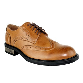 X-Ray Men's 'Park' Distressed Wingtip Oxford Shoes