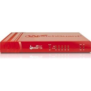 WatchGuard Firebox T30 - 620 Mbps Firewall, 150 Mbps VPN, 135 Mbps UT