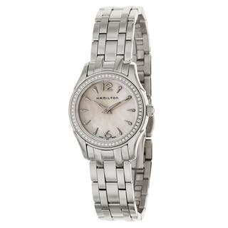 Hamilton Women's H32281197 Stainless Steel Watch|https://ak1.ostkcdn.com/images/products/10697601/P17758973.jpg?impolicy=medium