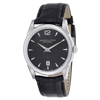 Hamilton Men's H38515735 Leather Watch