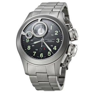 Hamilton Men's H77746133 Titanium Watch