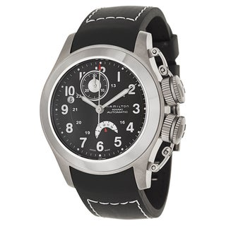 Hamilton Men's H77716333 Rubber Watch