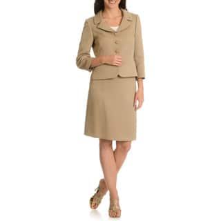 Tahari Arthur S. Levine Women's Textured Skirt Suit (As Is Item)|https://ak1.ostkcdn.com/images/products/10697645/P17759014.jpg?impolicy=medium