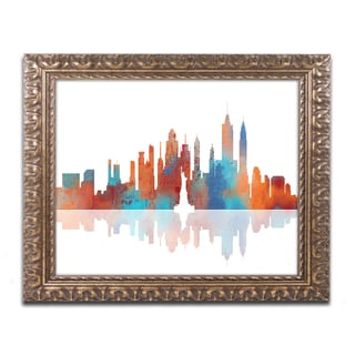 Marlene Watson Albuquerque New Mexico Skyline Gold