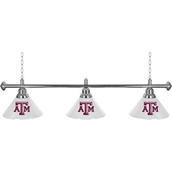 Texas A&M University 3 Shade Billiard Lamp