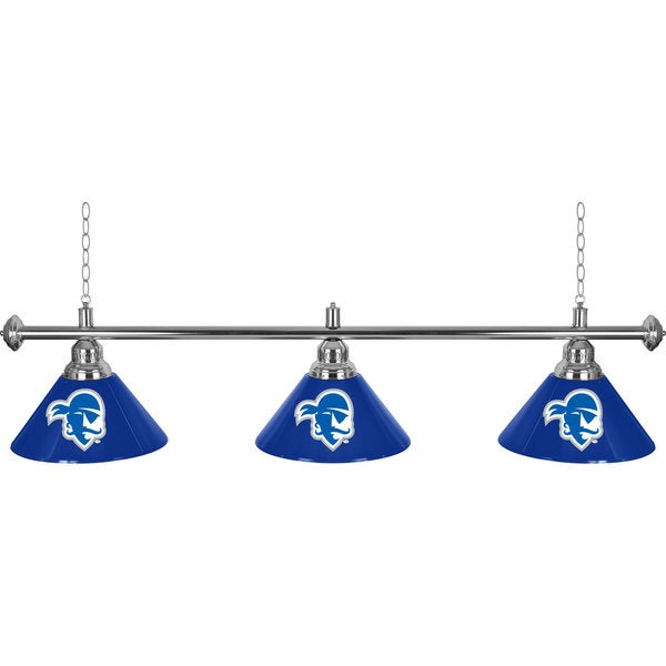 Seton Hall University 3 Shade Billiard Lamp