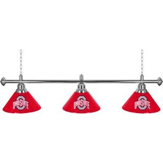 The Ohio State University 3 Shade Billiard Lamp