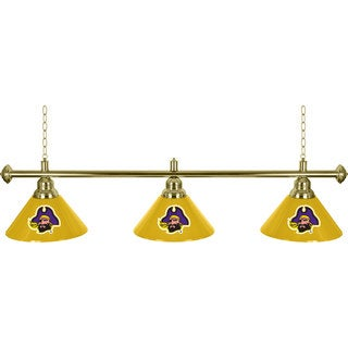 East Carolina University 3 Shade Billiard Lamp