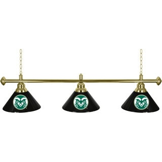 Colorado State University 3 Shade Billiard Lamp
