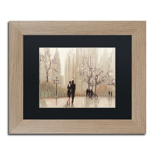 Julia Purinton 'An Evening Out Neutral' Black Matte, Birch Framed Wall Art