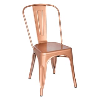 Metal Chair Copper (Set of 2)