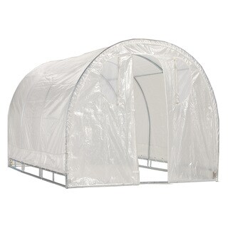 Link to Weatherguard Steel Round Top Greenhouse - Silver Similar Items in Gardening