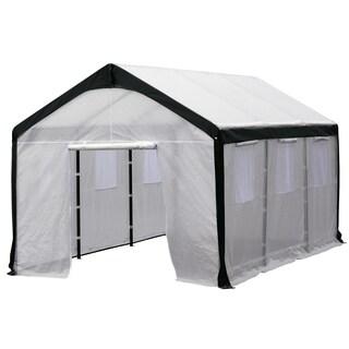 Spring Gardener Steel Gable Greenhouse
