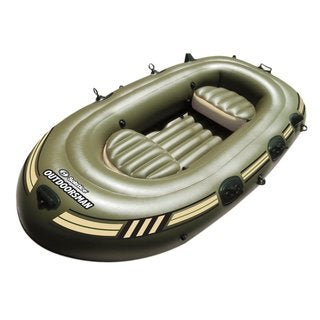 Solstice Outdoorsman Inflatable 12' Feet Fishing Boat / Model 31600