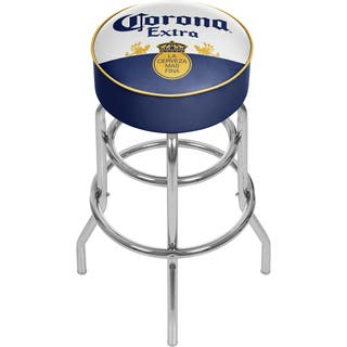 Corona Chrome Padded Bar Stool with Swivel - Label Design|https://ak1.ostkcdn.com/images/products/10698179/P17759472.jpg?impolicy=medium