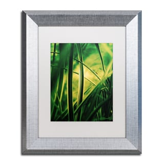 Philippe Sainte-Laudy 'Miniature' White Matte, Silver Framed Wall Art