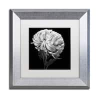 Michael Harrison 'Mum II' White Matte, Silver Framed Wall Art
