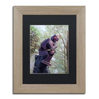 Eric Joyner 'The Collator' Black Matte, Birch Framed Wall Art