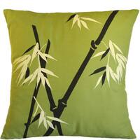 Bamboo Wilderness on Moss Large Pillow