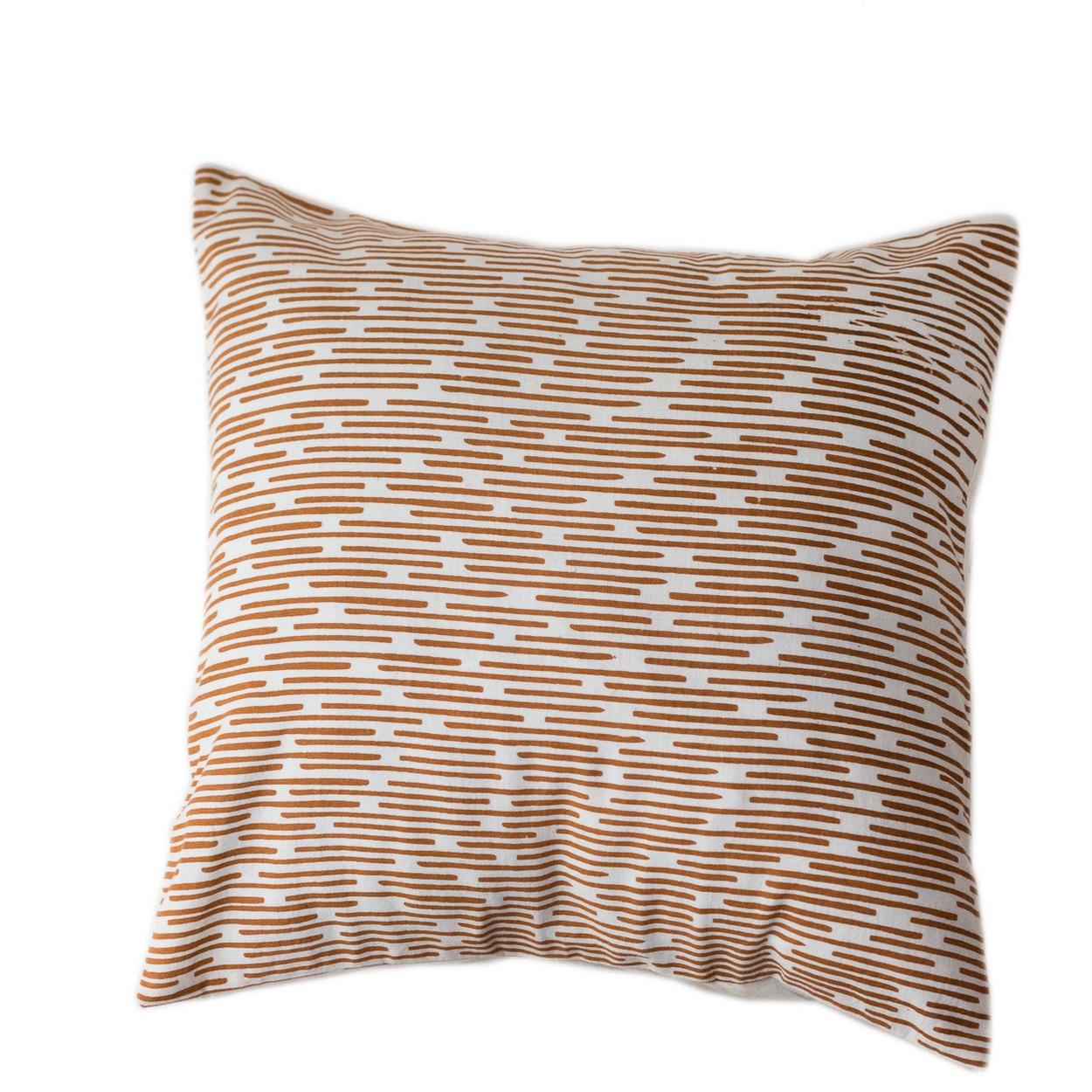 Burnt Channels Large Pillow (Burnt Channels Large Pillows)