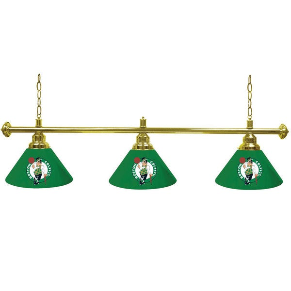 Boston Celtics NBA 3-shade Billiard Lamp