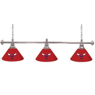 Chicago Bulls NBA 3 Shade Billiard Lamp