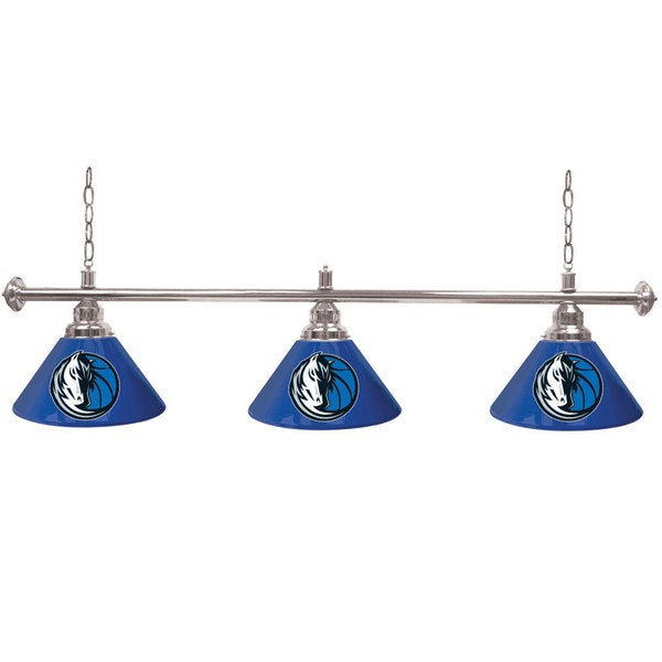Dallas Mavericks NBA 3 Shade Billiard Lamp