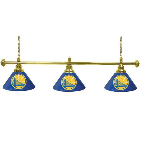 Golden State Warriors NBA 3 Shade Billiard Lamp