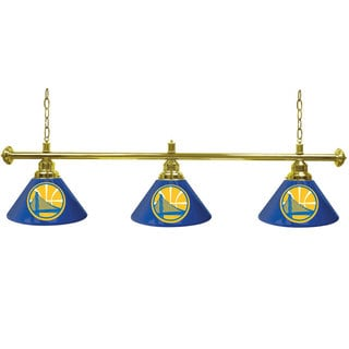 Golden State Warriors NBA 3 Shade Billiard Lamp