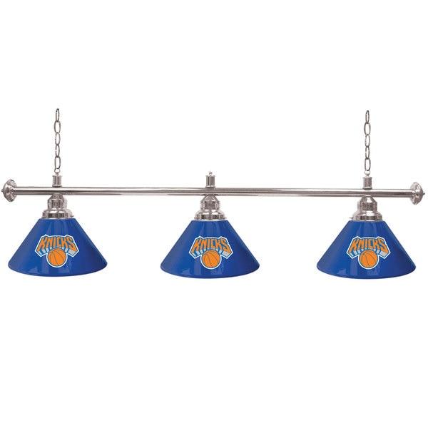 New York Knicks NBA 3 Shade Billiard Lamp