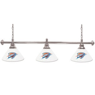 Oklahoma City Thunder NBA 3 Shade Billiard Lamp