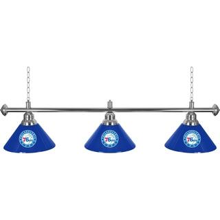 Philadelphia 76ers NBA 3 Shade Billiard Lamp