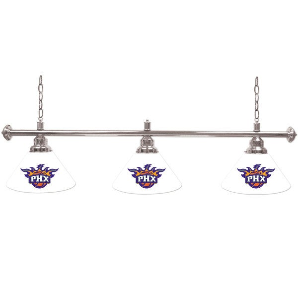 Phoenix Suns NBA 3 Shade Billiard Lamp