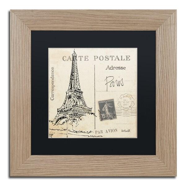 Shop Anne Tavoletti \'Postcard Sketches III\' Black Matte, Birch ...