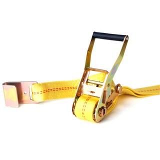 SmartStraps 27' 10,000-pound Flat Hook Ratchet 1 Pk Yellow