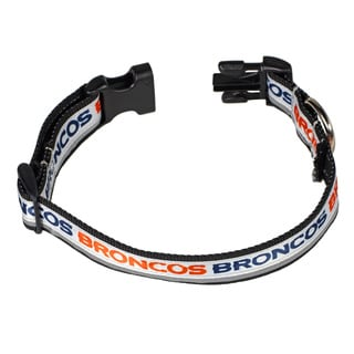 Petflect Denver Broncos Reflective Collar