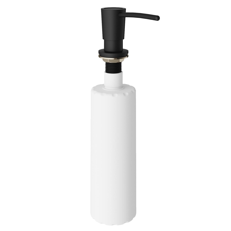 VIGO Matte Black Kitchen Soap Dispenser
