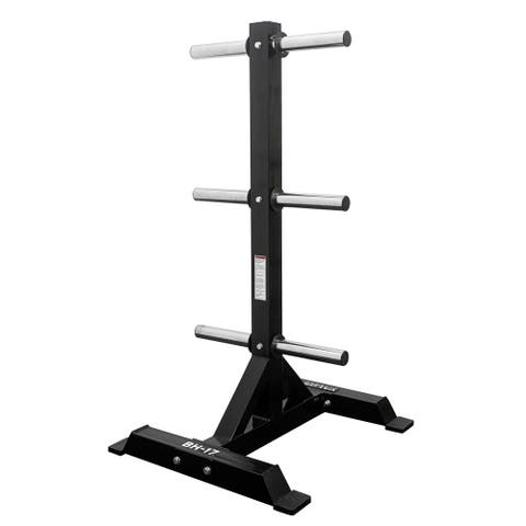 Valor Fitness BH-17 Bumper Plate Storage Tree for a Clean, Organized Gym