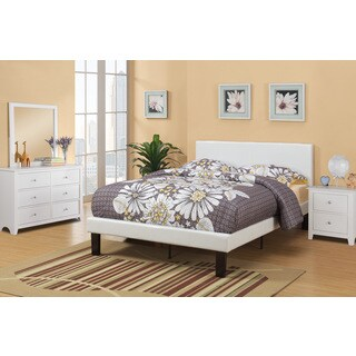 Sosnivka White 4-piece Youth Twin Bedroom Set