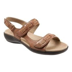 Women's Trotters Kip Active Sandal Luggage Veg Calf Leather