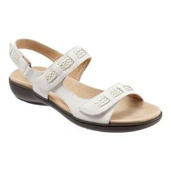 Women's Trotters Kip Active Sandal Off White Veg Calf Leather