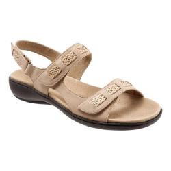 Women's Trotters Kip Active Sandal Sand Nubuck Leather
