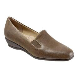 Women's Trotters Lamar Loafer Sage Veg Tumbled Leather