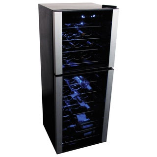 Koolatron WC45 45-bottle Dual Zone Wine Cooler