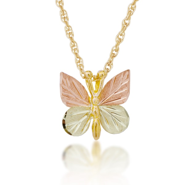 Shop black hills gold butterfly pendant on sale free shipping black hills gold butterfly pendant aloadofball Image collections