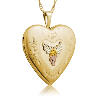 Black Hills Gold Heart Locket