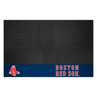 Fanmats Boston Red Sox Black Vinyl Grill Mat