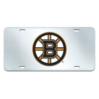Fanmats Boston Bruins Acrylic Inlaid License Plate